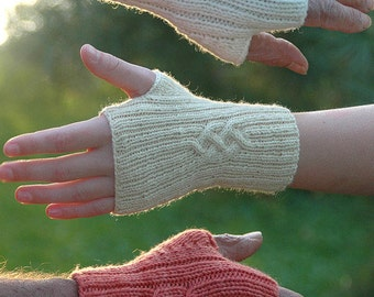 Shirl's Mittlets Knitting Pattern, PDF, fingerless gloves