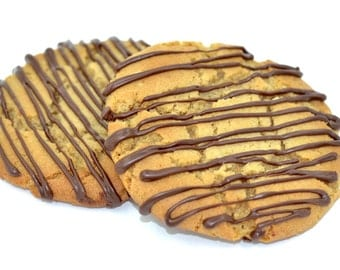 PB & C Cookies (peanut butter and chocolate)