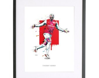 Thierry Henry Print