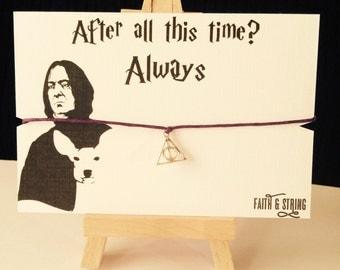 Always Gift Harry Potter Gift Bracelet