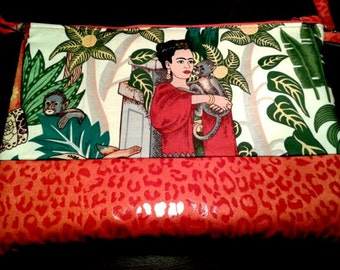 Wallet with My orange Frida