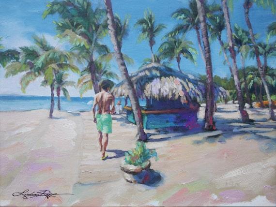 Dominican Republic ~ Original Painting