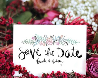 Save the Date // Paris with Love