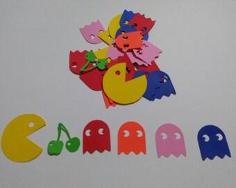 Pacman Party Confetti, 80 party confetti, retro party confetti, Atari games confetti