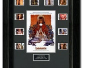 Labyrinth Framed Film Cell Montage, Mini Poster, Photo, David Bowie