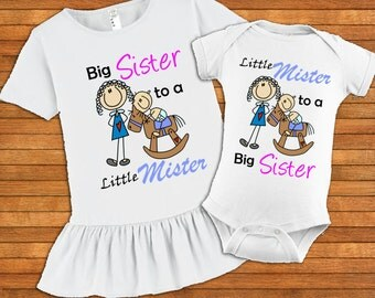Big Sister and Little Brother Set