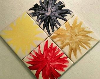 Pattern Tile Coasters