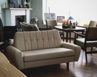 mid- century modern sofa