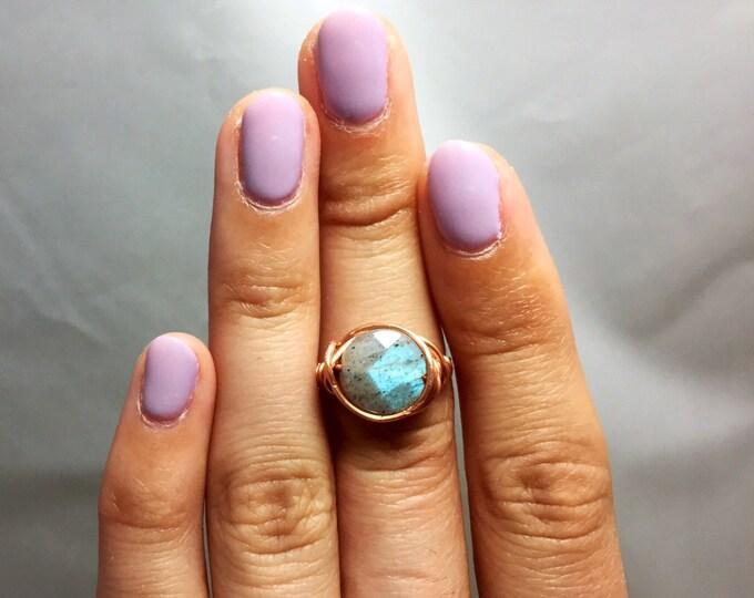 Labradorite Handmade Ring