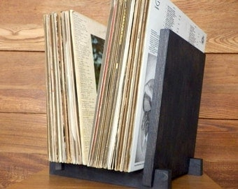 "Vinyl LP Record Storage Display | Holds 40 x 12"" Albums 