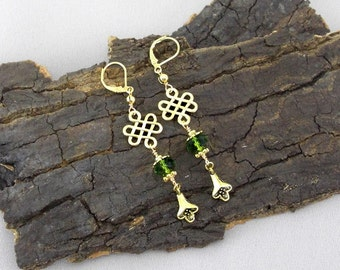 Earrings Celtic knots