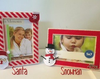 5x7 Christmas picture frames (5 choices)