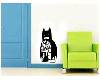 Lego Batman - Vinyl Decal Wall Art