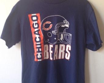 Chicago Bears vintage NFL football t-shirt Large