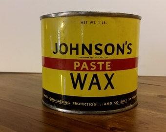 Johnson's Paste Wax