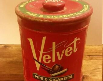 Vintage Pipe Tobacco Tin