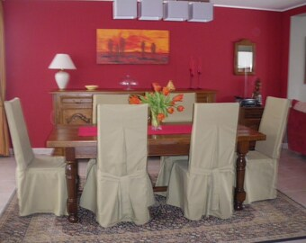 Chair covers to your dimensions (with nouettes)