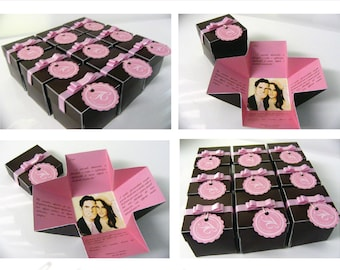 Wedding boxes invitations