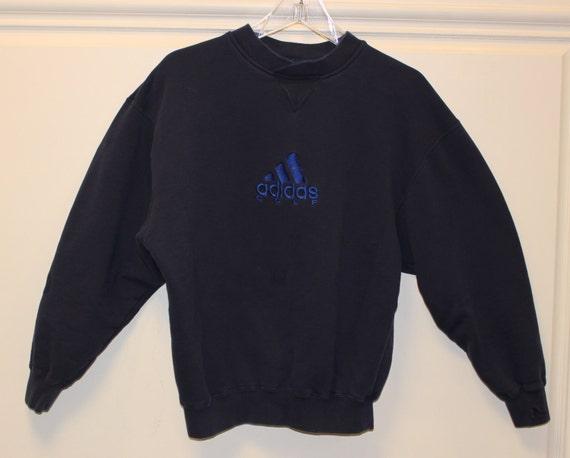 vintage adidas golf sweatshirt pullover navy. Black Bedroom Furniture Sets. Home Design Ideas