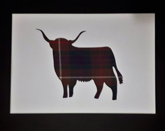 Highland Cow Tartan Pictures