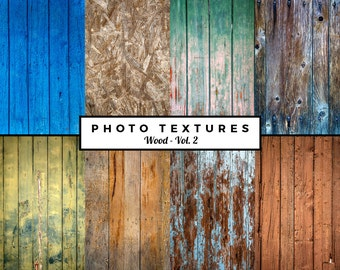 Set of HIGH QUALITY photo textures - Wood Collection, Vol. 2