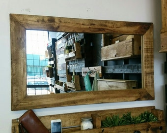 "Mirror wood 40 ""x 23"""
