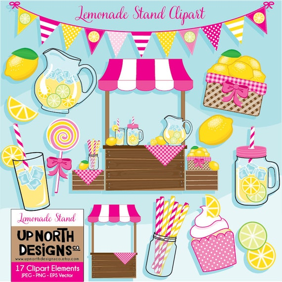 Lemonade Stand Clipart Lemonade Clipart Lemon Clipart Lemonade