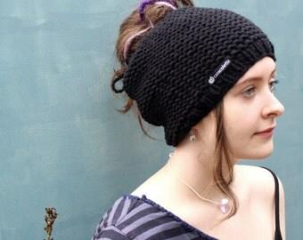 Dread dread Hat tube black Dreadlock knit tube