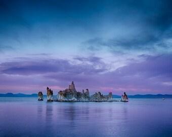 Solitude - Mono Lake, California - Original Print