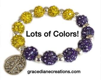 Side by Side Shamballa Bracelets