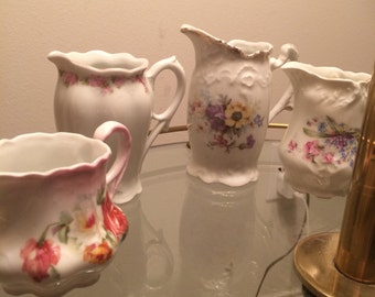 Vintage China Creamer Lot