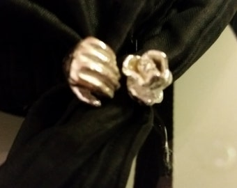 Silver 925 ring sculpture