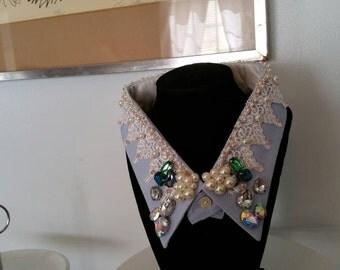 Recycled men's shirt collar