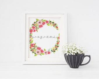 Programs sign   Watercolour floral succulent programs sign   Summer wedding order of the day sign   Spring wedding order of the day sign S3