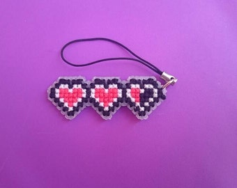 Heart container phone accessory. Double sided