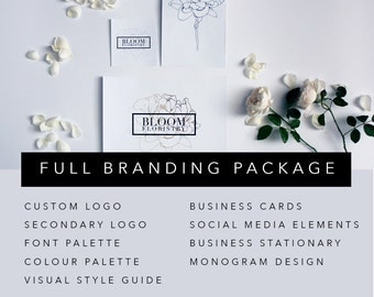 FULL BRANDING PACKAGE | Custom Business Branding Package