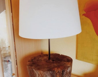 Wood sideboards lamp