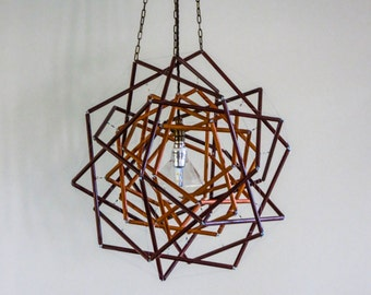 MILETUS two-layer tensegrity pendant light.......free delivery within Melbourne
