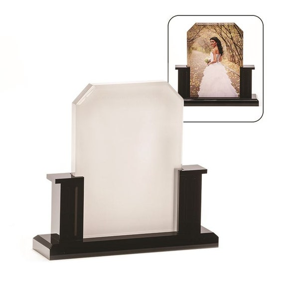 Custom Photo Acrylic Block With Stand 6 6 X 7 By
