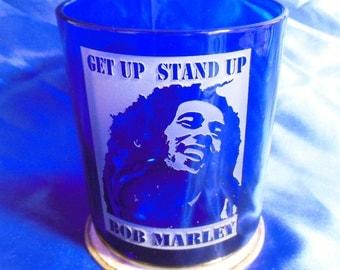 Bob Marley Glass2