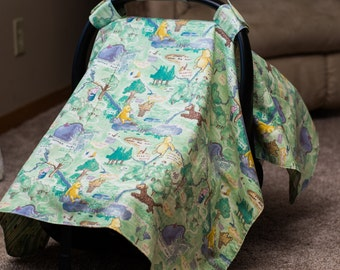 Winnie the Pooh Car Seat Cover, Gender Neutral Car Seat Cover, Pooh Bear Car Seat Cover, Winnie the Pooh Baby, Tigger Car Seat Cover