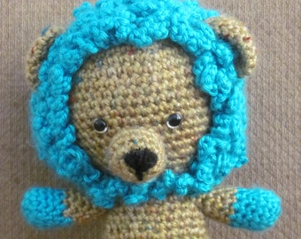 Handmade, Crocheted Lion