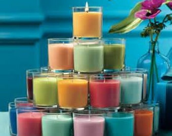 All Natrual Soy Candle Glass Jar - Everyday Scents
