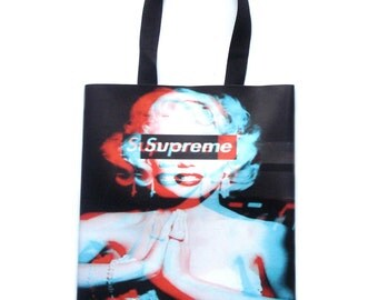 Supreme Tote Bag - Screen printed tote bag