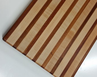 Maple and Mahogany Cutting Board