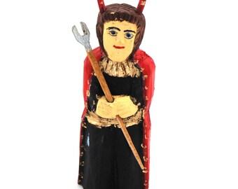 Devil Boruta - polish folk art / folk sculpture