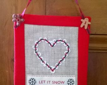 Hand Embroidered Door Hangers