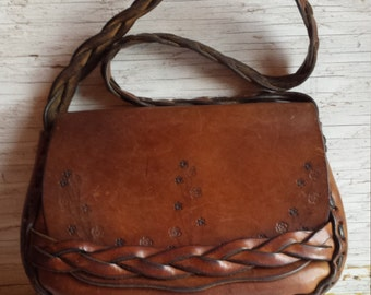 Hand Crafted Artisan Designed Saddle Bag Purse