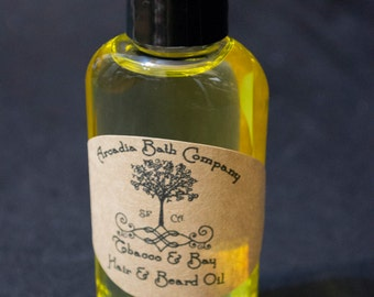 Beard and hair oil, pick your scent