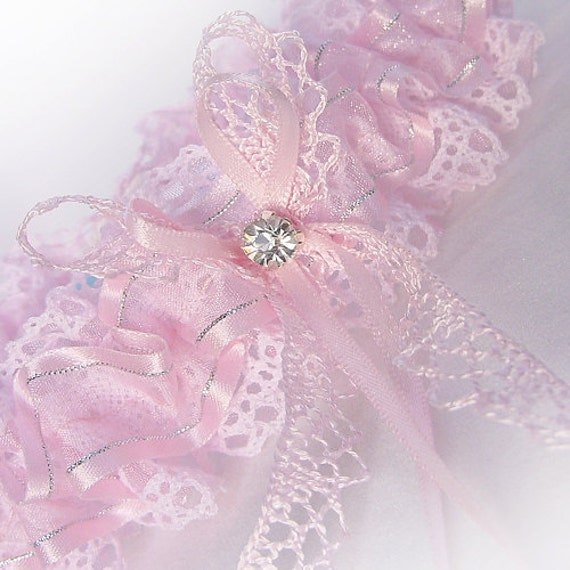 Crochet Wedding Garter: Items Similar To AMAZING VALUE! Blush Baby Pink Crochet